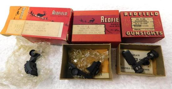 New old stock Redfield receiver sights