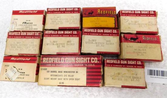 Redfield scope base assortment