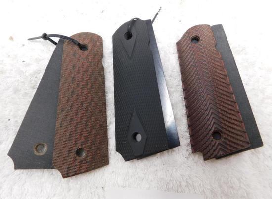 Mycarta grips for 1911 pistols