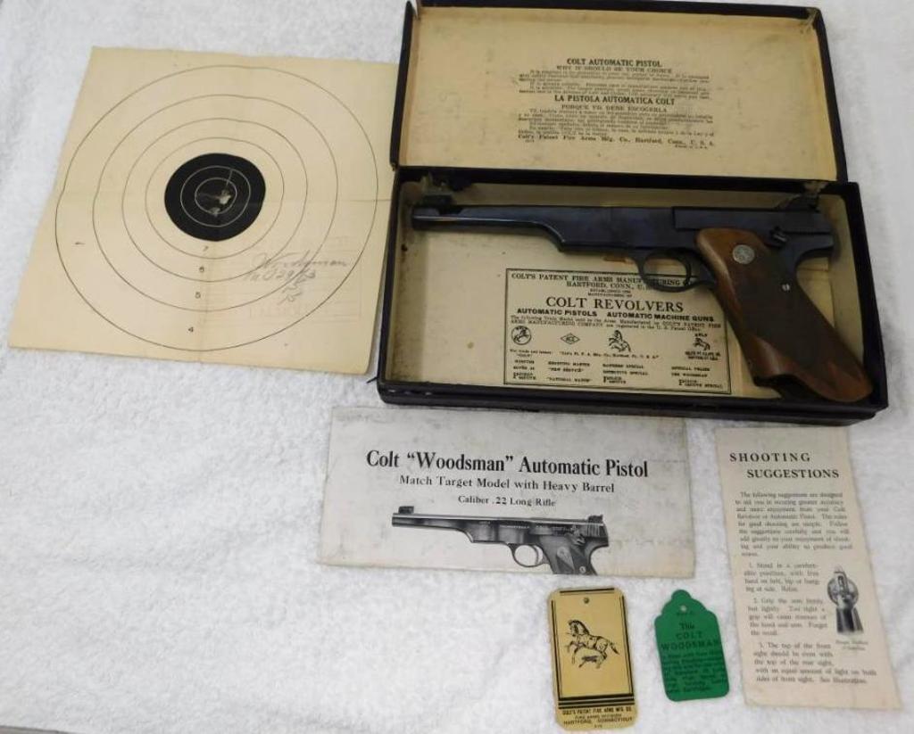 Colt - Model Woodsman Match Target
