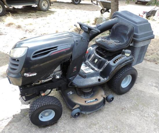 Craftsman DYS 4500 24HP riding lawn mower.