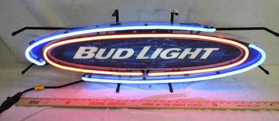 "36x12"" Bud Light neon sign."