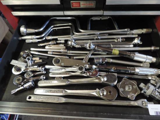 Craftsman socket wrench assortment.