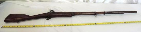 19th century Belgium trade musket.