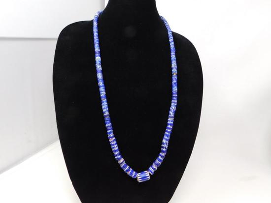 Rick Rice 5 layer cane trade bead necklace