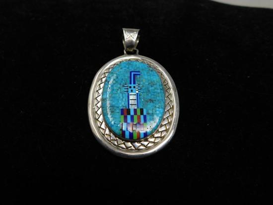 Zuni signed pendant