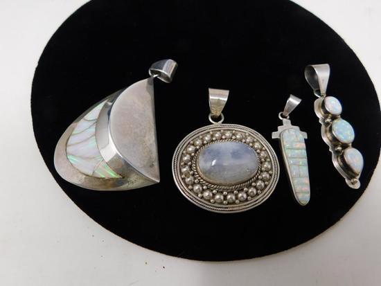 Native Sterling pendants