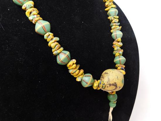 Rick Rice and Art Seymour powder bead necklace