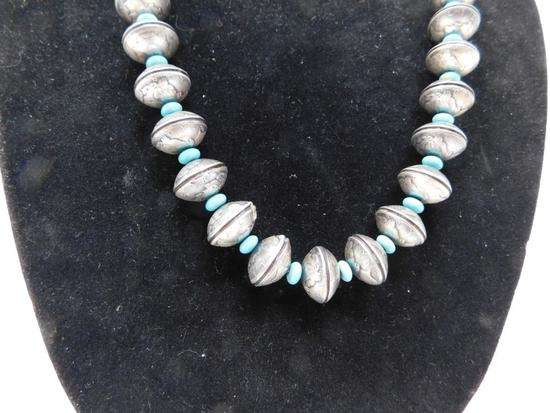 Navajo Coin Silver necklace