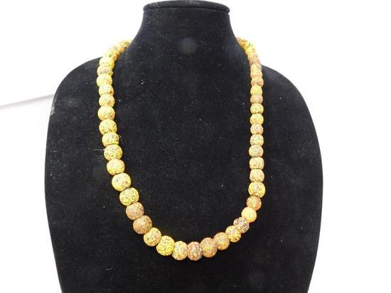 Rick Rice Crumb bead necklace