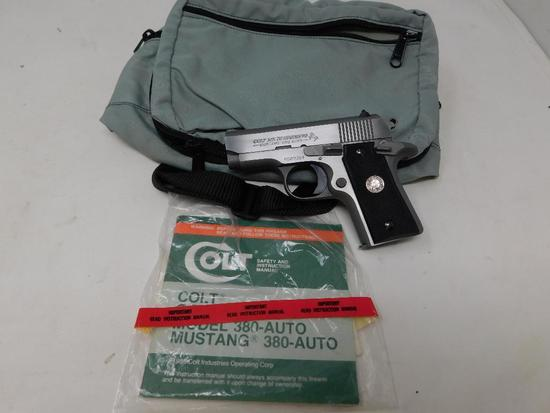 Colt - Stainless MK IV Series 80 Mustang