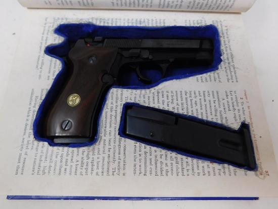 Browning - BDA-380 with hidden book