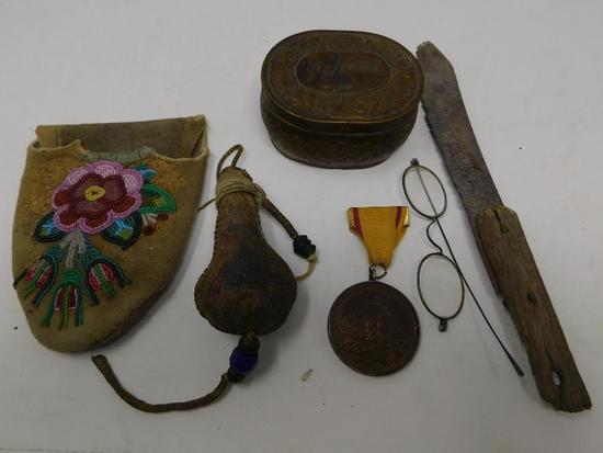 Antique Native and fur trade smalls