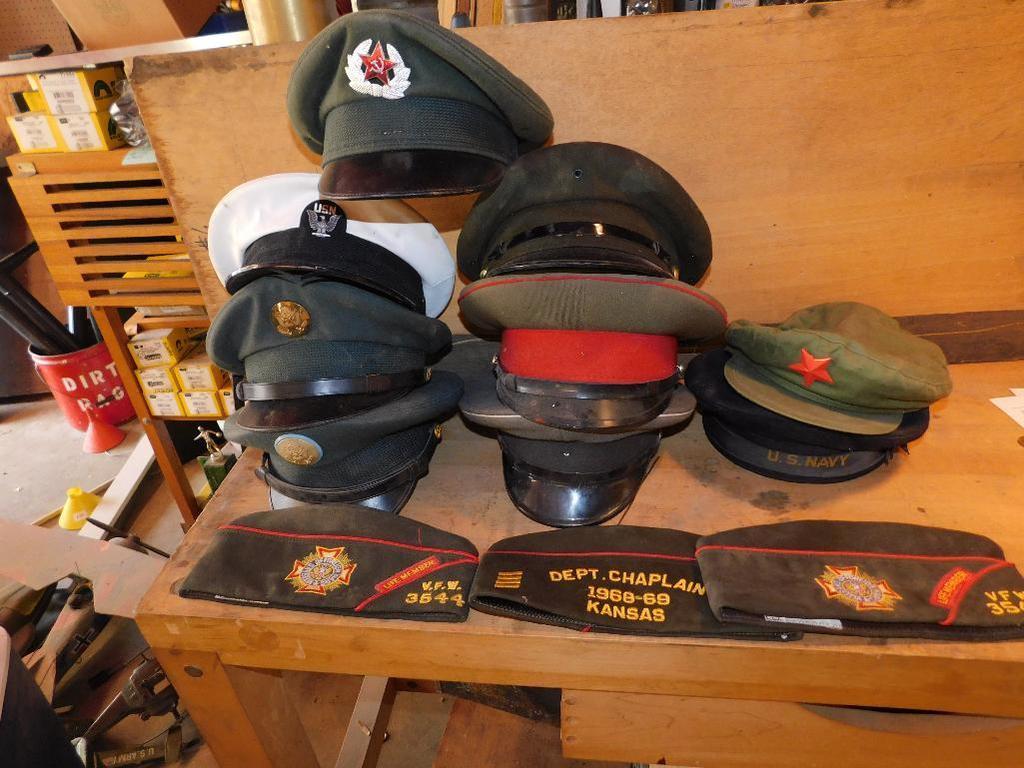 Military caps and headgear