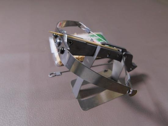 Operable mini all steel crossbow