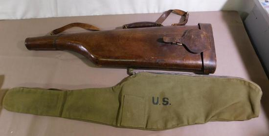 M1 Carbine and muttonchop cases