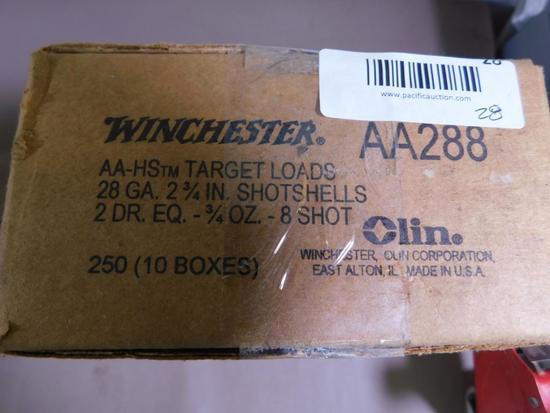 28 gauge shotgun ammunition