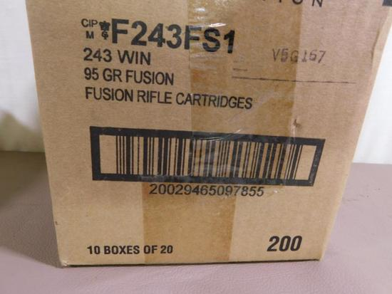 Federal 243 Winchester ammunition