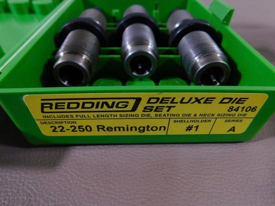 Redding Deluxe die set in 22-250 Remington