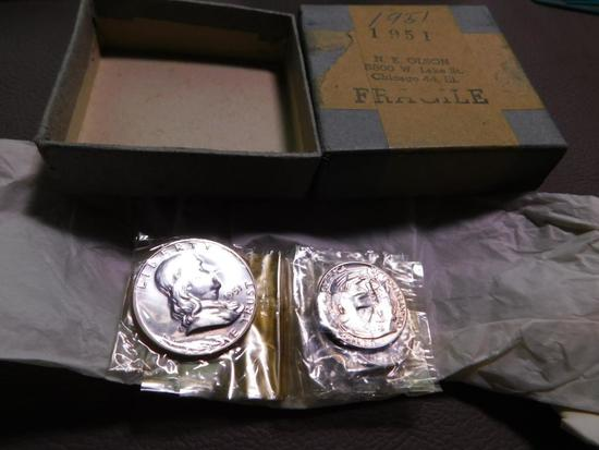 1951 US Coin proof set