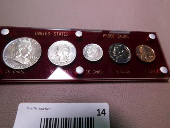 1958 US Coin proof set