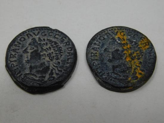 Two Ancient Roman Coins
