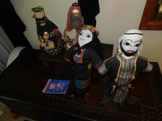 Saudi Arabian dolls