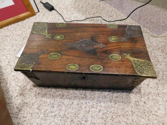 Antique Middle Eastern small chest