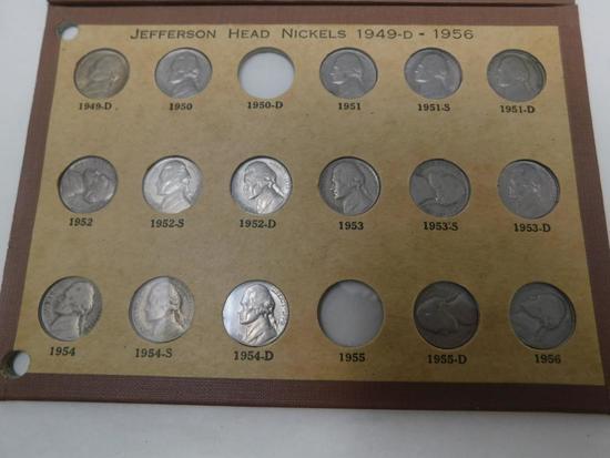 US Jefferson Nickel assortment