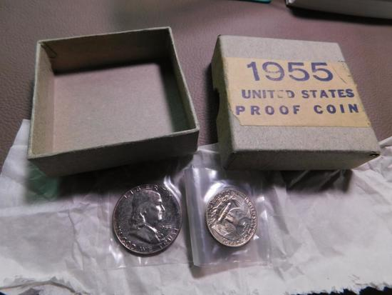 1955 US coin proof set