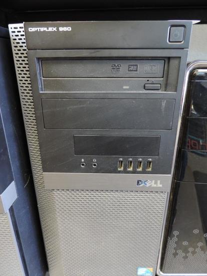 Dell optiflex 960 tower computer.