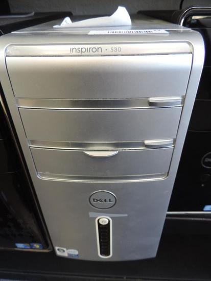 Dell Inspiron 530 tower computer.
