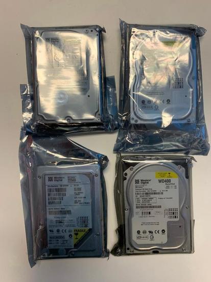 (4) Western Digital Hard Drives