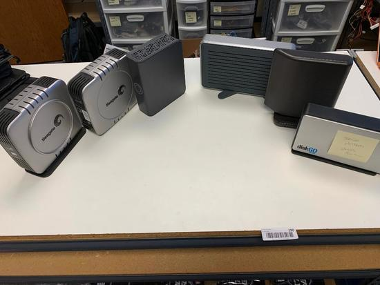 (6)Misc Hard Drives Untested