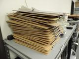 40+ clip boards and office supplies.