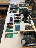 Untested-Graphics Cards, Evea 400bt power supply, Processing boards