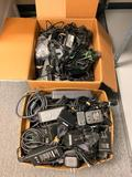Massive lot of power cables, Batteries and Misc