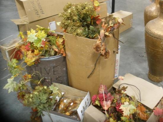 Fall Foliage Garlands and Sprays galor lot