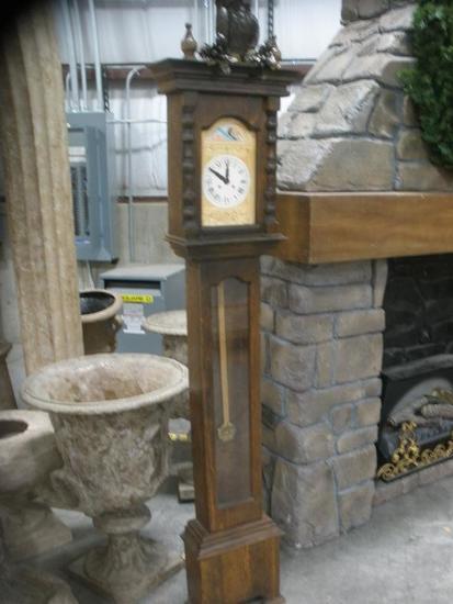 Decorative Skinny Grandfather Clock