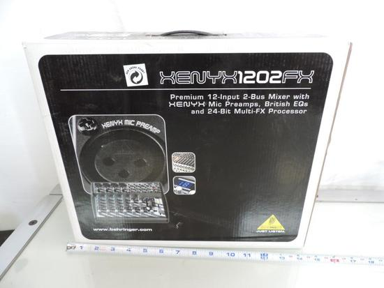 New Behringer Henry X 1202FX 2-bus mixer.