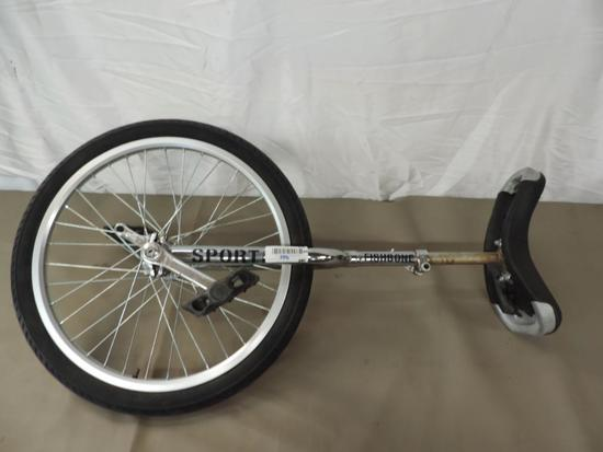 Fishbone sport unicycle.