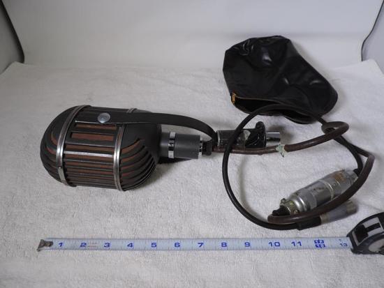 Altec 639B ribbon microphone.