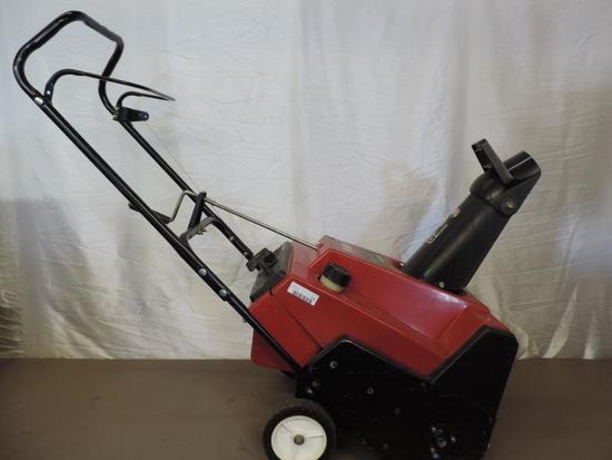 Toro CCR 2000 4.5 HP snow blower.