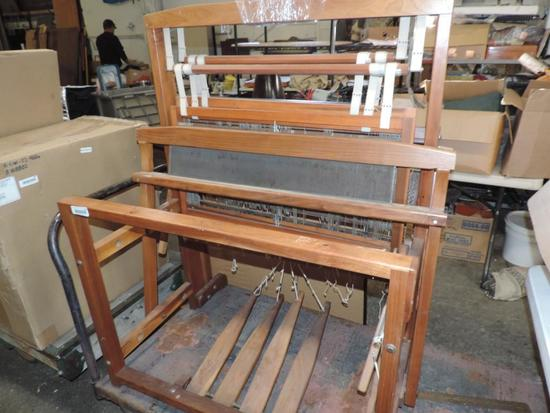 Starner's Craft commercial loom.