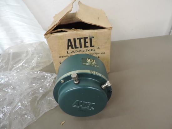 Altec Lansing 802D horn driver with box.