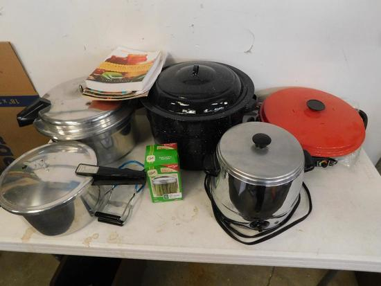 Cookers and canning