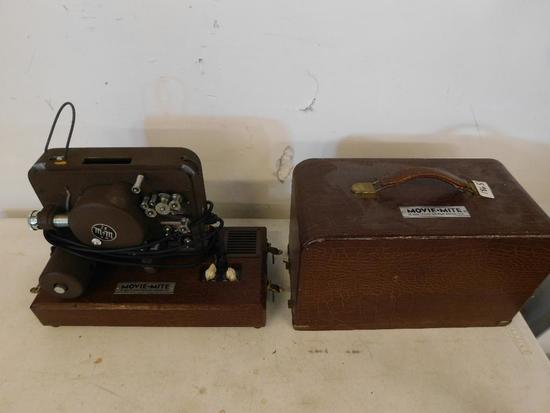 Antique Movie Mite 16mm movie projector