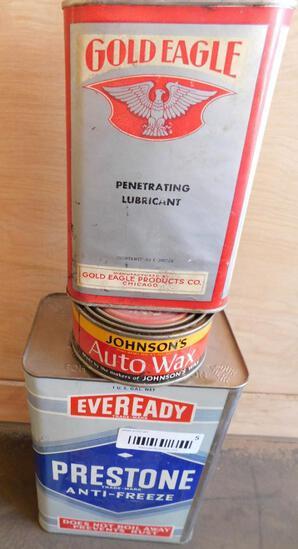 Advertising tins