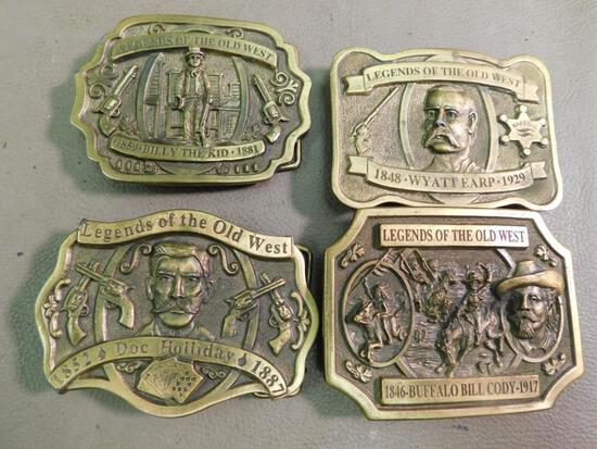 Legends of The Old West limited edition Belt buckles