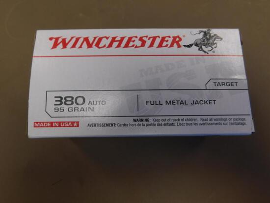 Winchester .380 Auto Ammo